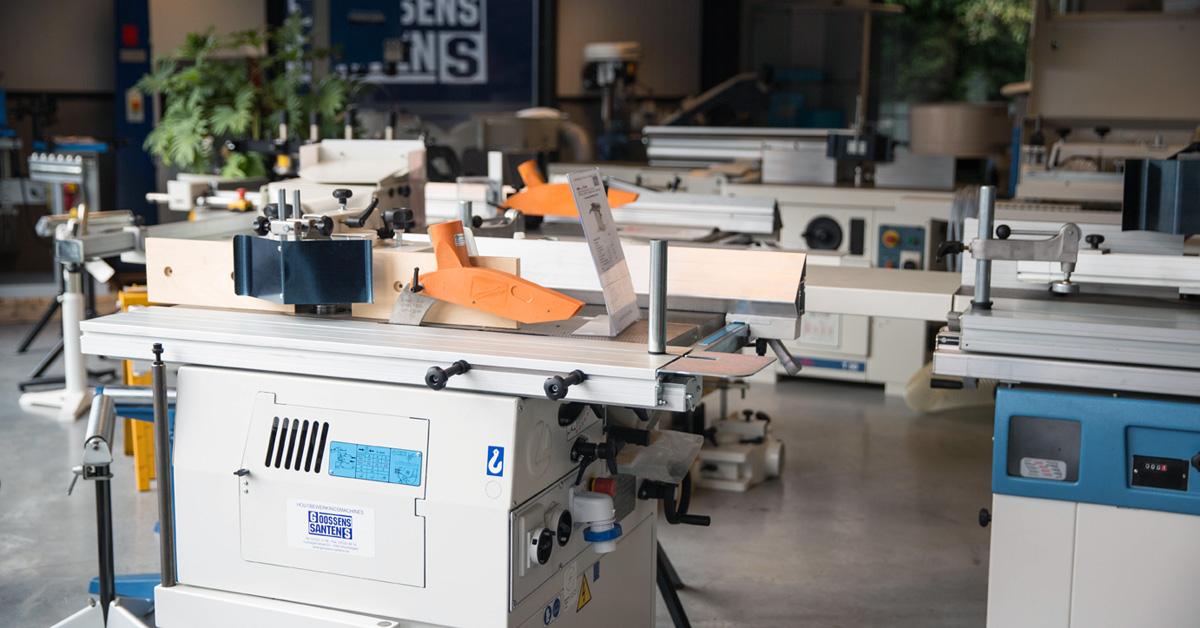 Houtbewerkingsmachines nieuw - Goossens-Santens - Robland - SCM - Altendorf - Combiné - Paneelzaag - topie